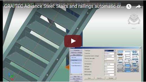 Automatische Erstellung von Treppen und Geländern