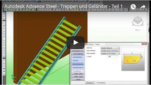 Treppen und Geländer - Teil 1