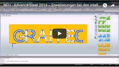 NEU - Advance Steel 2014 - Erweiterungen bei den intelligenten Bemaßungen auf Zeichnungen