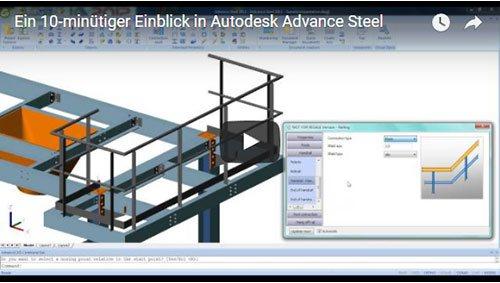 Ein 10-minütiger Einblick in Advance Steel