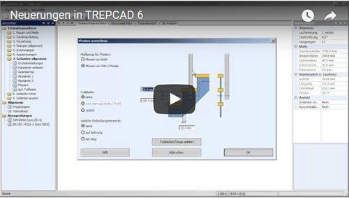 Neuerungen in TREPCAD 6
