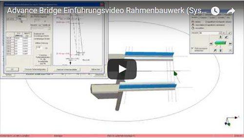 Advance Bridge Einführungsvideo Rahmenbauwerk (Systemeingabe Teil 2)