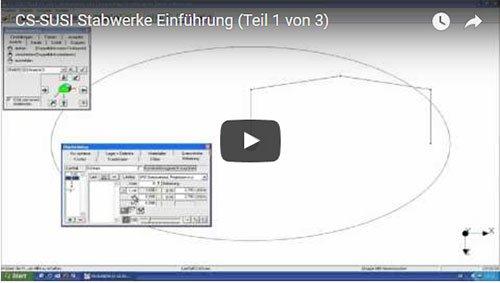 CS-SUSI Stabwerke Einführungsvideo (Teil 1)