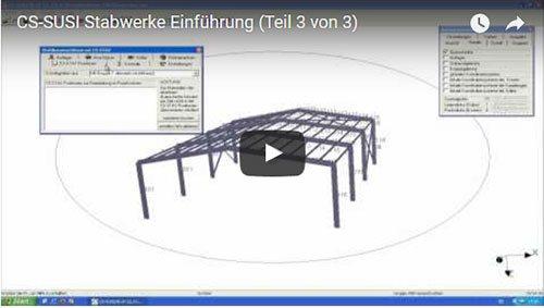 CS-SUSI Stabwerke Einführungsvideo (Teil 3)