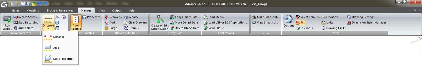GRAITEC Advance CAD | Einfache und intuitive Benutzeroberfläche