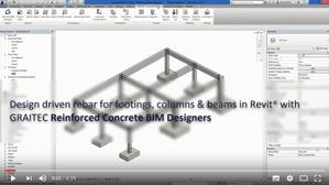 Die Leistung der GRAITEC BIM Designer für Stahlbetonbau für Revit