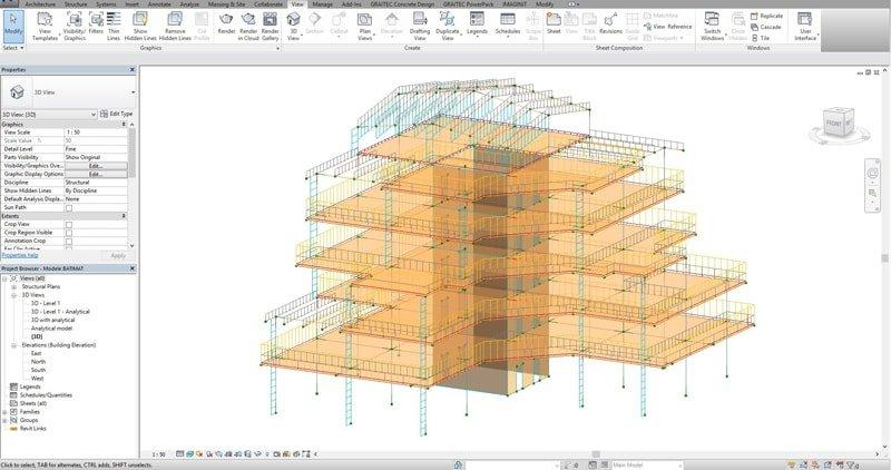 GRAITEC Advance Design | Structural Concrete BIM Workflow