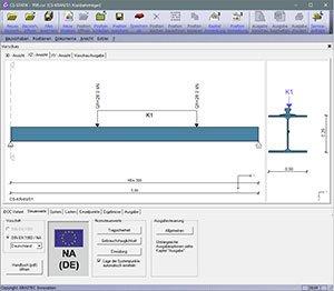 GRAITEC CS-Statik | Module Stahlbau | Kranbahn XL