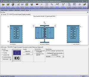 GRAITEC CS-Statik | Module Stahlbau | Verbindungen