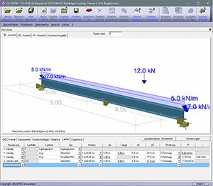 GRAITEC CS-Statik | Module Stahlbau | Träger