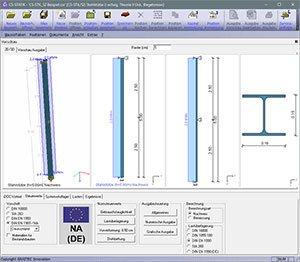 GRAITEC CS-Statik | Module Stahlbau | Stützen