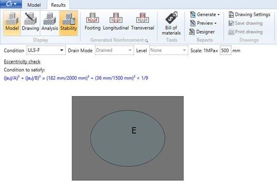 GRAITEC Advance Bim Designers | Interaktionskurven, Diagramme und Stabilitätsgrafiken