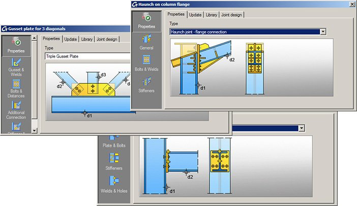 GRAITEC Autodesk Advance Steel | Eurocodes 3