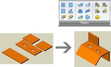GRAITEC Autodesk Advance Steel   Blechsonderbau