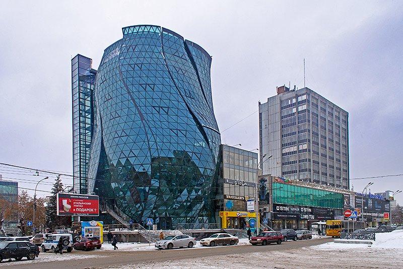 Öffentliches Gebäude «Flower»