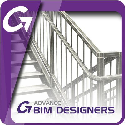 GRAITEC Stair & Railing Designer für Advance Steel (GRAITEC Advance BIM Designer für Treppen & Geländer)