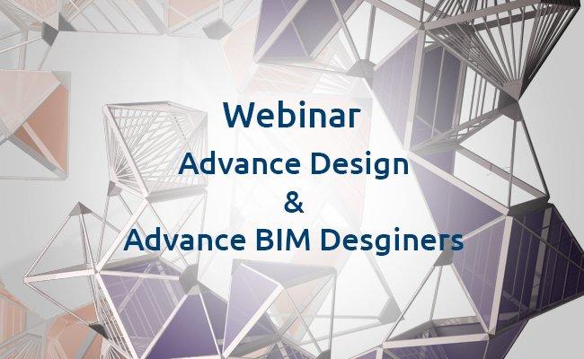 Webinar Advance Design & Advance BIM Designers