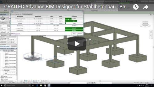 Advance BIM Designers für Stahlbetonbau