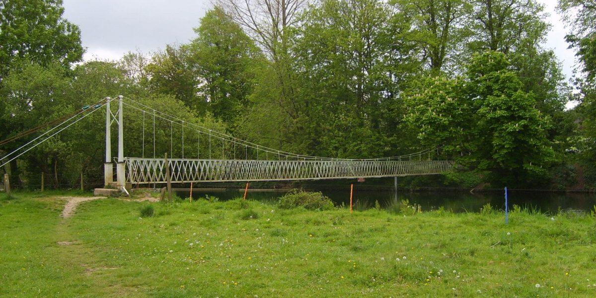 Canford Hängebrücke