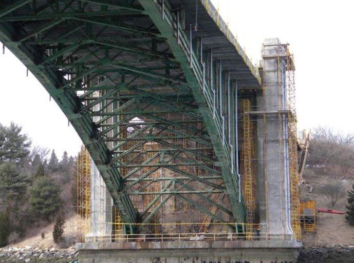 Komplexe Brückenrehabilitation