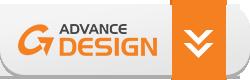 GRAITEC Advance Design button
